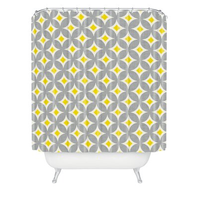 Diamond Circles Shower Curtain