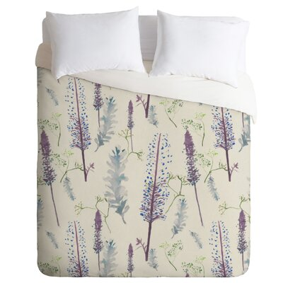 Pinecone Duvet Cover Size: Queen