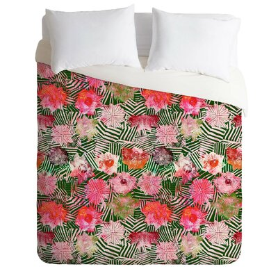 Rose Duvet Cover Size: Queen