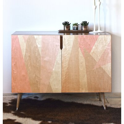 Allyson Johnson Blush Mod Accent Cabinet