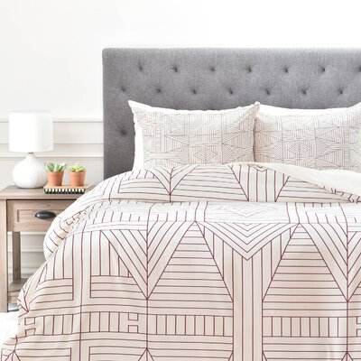 Holli Zollinger Duvet Cover Set Size: Twin/Twin XL