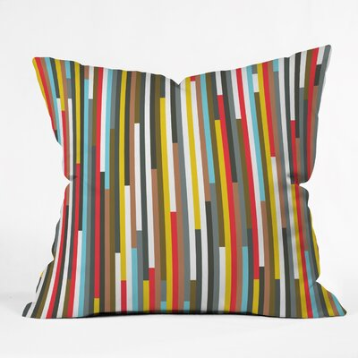 Fimbis Ses Throw Pillow Size: 16 H x 16 W x 4 D