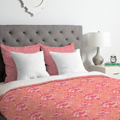 Rosa Duvet Cover Set Size: Queen