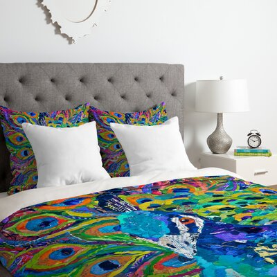Elizabeth St Hilaire Nelson Cacophony of Color Duvet Cover Set Size: Twin/Twin XL
