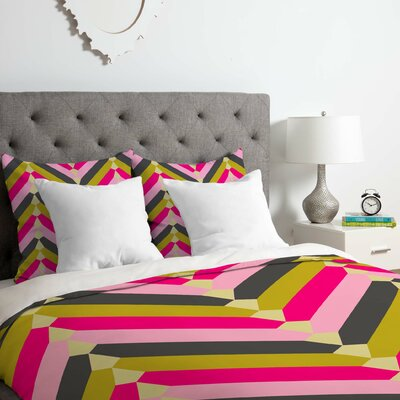 Chevron Duvet Cover Set Size: Twin/Twin XL