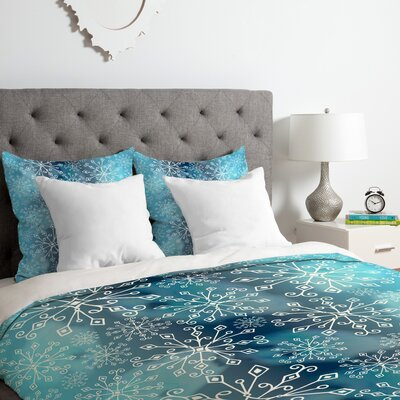 Heather Dutton Frost Duvet Cover Set Size: Queen