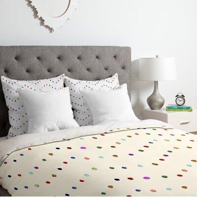 Water Lights Duvet Cover Set Size: Twin/Twin XL