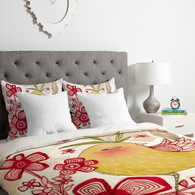 Cori Dantini Sweetie Pie Duvet Cover Set Size: King