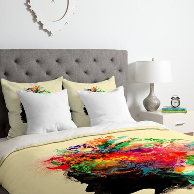 Budi Kwan Duvet Cover Set Size: Twin/Twin XL