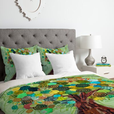 Spring Tree Duvet Cover Set Size: Twin/Twin XL