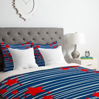 Spangled Duvet Cover Set Size: King