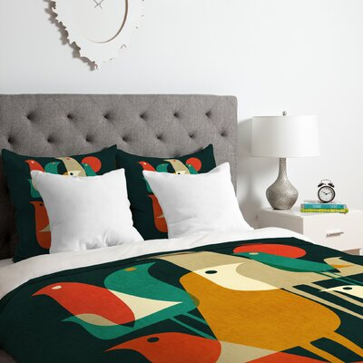 Budi Kwan Flock of BirdDuvet Cover Set Size: King