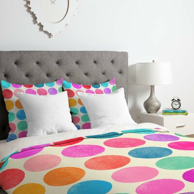 Colorplay 8 Duvet Cover Set Size: Queen