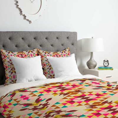 Holli Zollinger Geo Nomad Duvet Cover Set Size: Twin/Twin XL