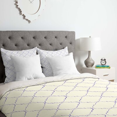 Hadley Hutton Dotty Duvet Cover Set Size: Queen