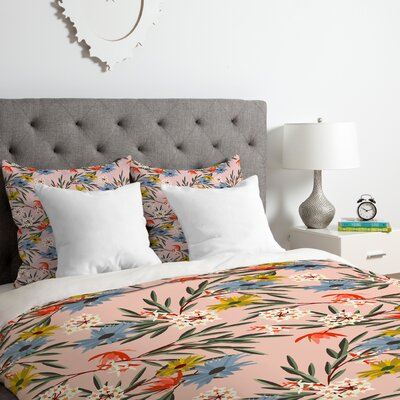 Bungalow Duvet Cover Set Size: Queen