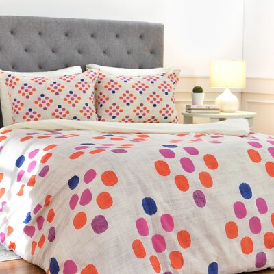 Diamond Weave Duvet Cover Set Size: King