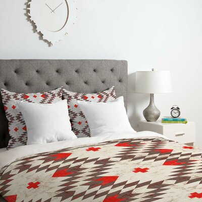 Holli Zollinger Native Rustic Duvet Cover Set Size: Queen