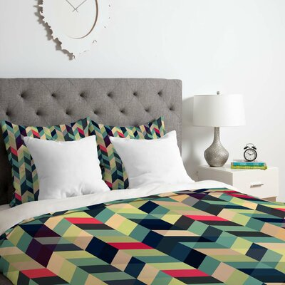 Gabi Arise Duvet Cover Set Size: Twin/Twin XL