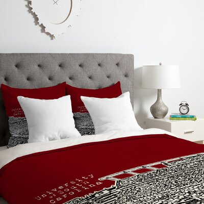 University of South Carolina Duvet Cover Set Size: Queen