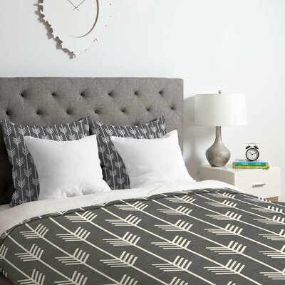 Holli Zollinger Arrows Duvet Cover Set Size: Twin/Twin XL