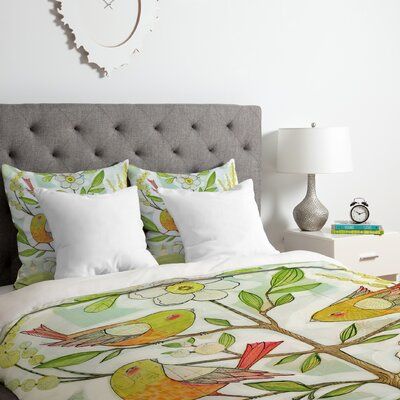 Community Tree Duvet Cover Set Size: Queen