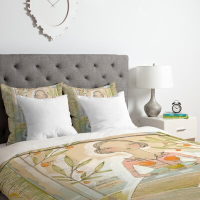 Cori Dantini Always Thoughtful Duvet Cover Set Size: King