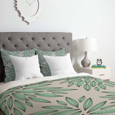 Mint Duvet Cover Set Size: King