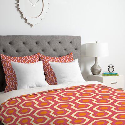 Zest Duvet Cover Set Size: Queen