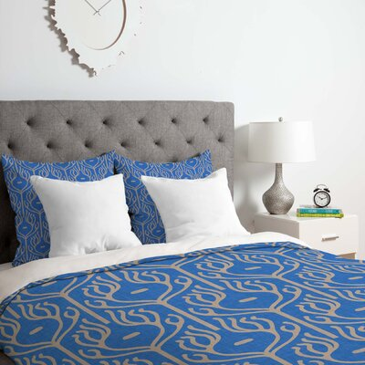 Holli Zollinger Umbraline Duvet Cover Set Size: Queen