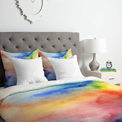 Torrent 1 Duvet Cover Set Size: King