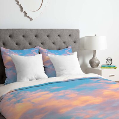 The Sky Duvet Cover Set Size: Queen