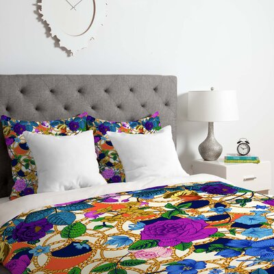 Juliana Curi Luxury 2 Duvet Cover Set Size: Twin/Twin XL