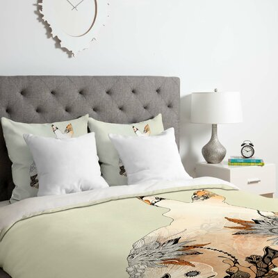 Little Rabbit Duvet Cover Set Size: Twin/Twin XL