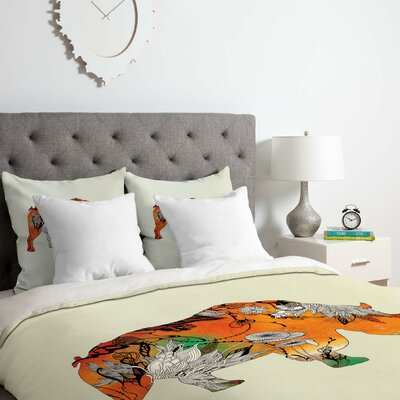 Rhino Duvet Cover Set Size: King