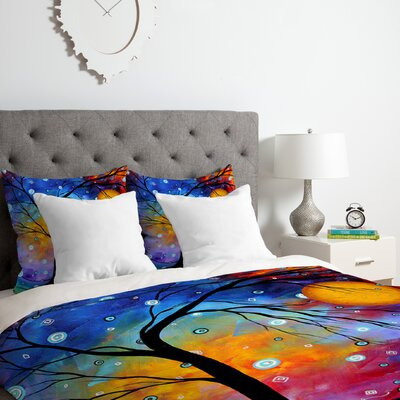 Madart Inc.Winter Sparkle Duvet Cover Set Size: Queen