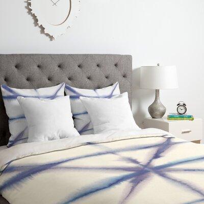 Light Dye Folding Duvet Cover Set Size: Queen