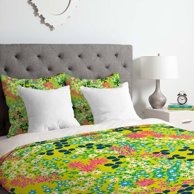 Joy Laforme Bed III Duvet Cover Set Size: King