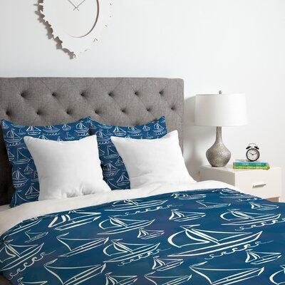 Lisa Argyropoulos Sail Away Duvet Cover Set Size: King