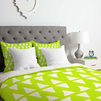 Leah Flores Pineapple Dreams Duvet Cover Set Size: Queen