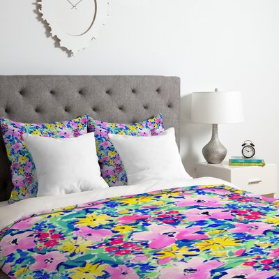 Floreale Duvet Cover Set Size: Twin/Twin XL