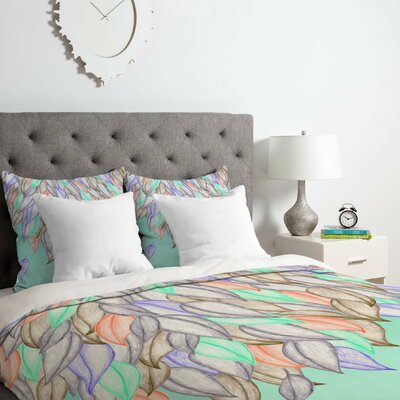 Jacqueline Maldonado A Different Nature 1 Duvet Cover Set Size: Queen