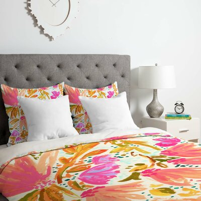 Blossom Duvet Cover Set Size: Twin/Twin XL