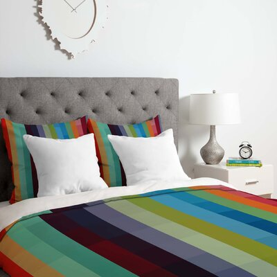 Madart Inc.City Colors Duvet Cover Set Size: King