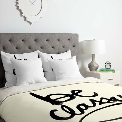 Be Classy Duvet Cover Set Size: Twin/Twin XL