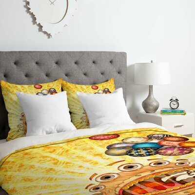 Monster Duvet Cover Set Size: King