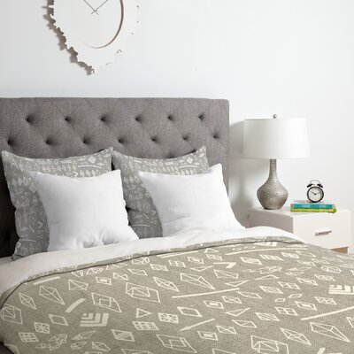 Iveta Abolina Morning Duvet Cover Set Size: King