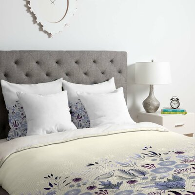Fields Duvet Cover Set Size: Queen