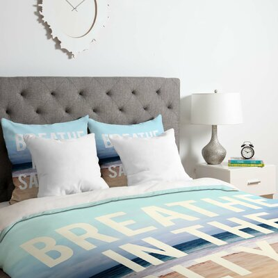 Breathe Duvet Cover Set Size: Queen