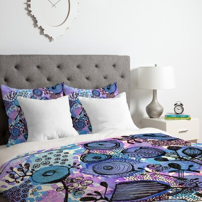 Flowers Bloom Duvet Cover Set Size: Twin/Twin XL